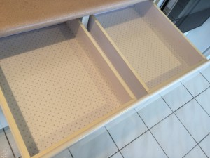 Empty Kitchen Drawers
