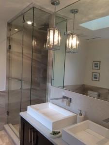 Renovation New Glass Shower