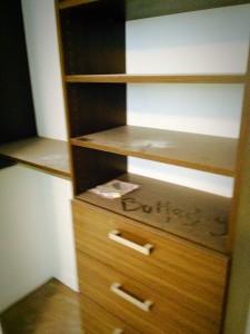 Renovated Bedroom Closets