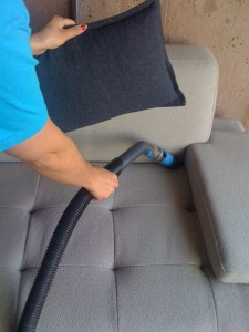 Sofa Vaccuming