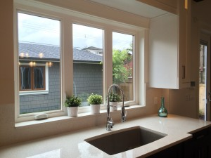 Renovation New Custom Kitchen Counter & Windows