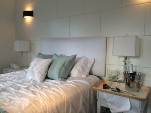Renovation Staged Bedroom Bed